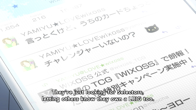 Selector infected WIXOSS/HorribleSubs 15.png